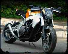 Honda Cbr 1000F Custom Streetfighter 2 A4 Metal Sign Motorbike Vintage Aged