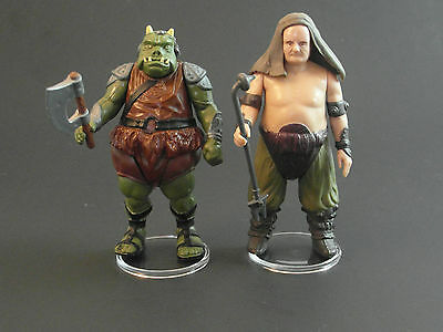 """T2c 60 x 1.5/"""" Vintage Star Wars Figure Display Stands-Wide stance-Palitoy"""