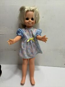 Vintage-Ideal-Kerry-Crissy-DOLL-Grow-Hair-1970