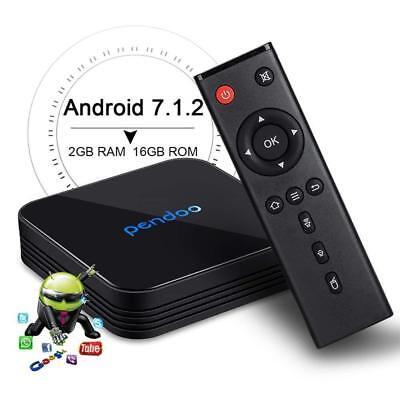 Pendoo X10 4K S905W 64bit Android 7.1//2G+16GB DDR4 Wifi 5G 3D Smart TV Box K17.6