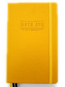 Executive Notebook 58th Ave Bullet Journal Dot Grid Planner