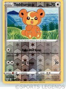 SWSH DARKNESS ABLAZE TEDDIURSA 138//189 COMMON REVERSE Pokemon