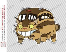 Ghibli Totoro Catbus Nekobus (A) Car Truck SUV Vinyl Bumper Sticker