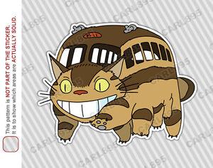 Image Is Loading Ghibli Totoro Catbus Nekobus A Car Truck Suv