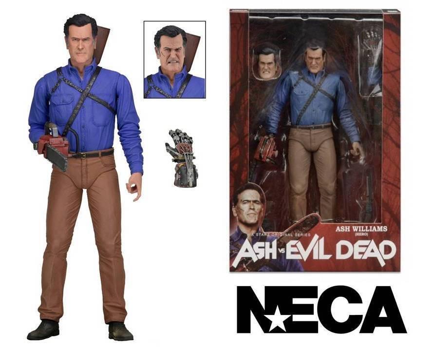 Action Figure Ash vs Evil Dead Ash Ash Ash Williams Hero serie 1 Neca e7ea24