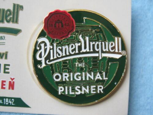 The Original PILSNER URQUELL ~ Plzen CZECH REPUBLIC Cool BEER BUTTON Pinback
