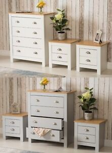 Country Style Bedroom Furniture Chest Of 4 Drawers