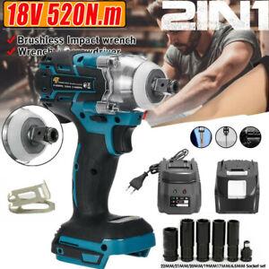 18V 520Nm Akku-Schlagschrauber Bohrmaschine Akkuschrauber für Makita Batterie