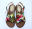 Women-Beach-Floral-Flat-Summer-Stagger-Casual-Low-heel-Open-Toe-Ladies-Fashion thumbnail 8