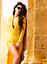 John-Zack-Sequin-Dress-Wrap-Over-Plunge-Yellow-long-sleeve thumbnail 6