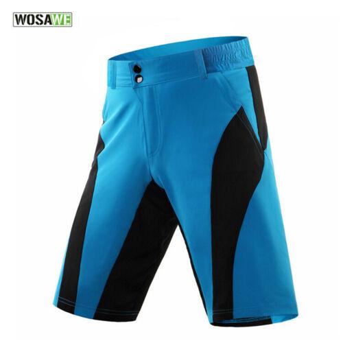 Men/'s Baggy Cycling Shorts Downhill MTB Mountain Road Bike Bicycle Sports Pants