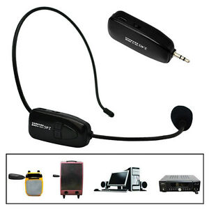 Pro-Headset-Head-wearing-Microphone-Mic-For-Megaphone-PC-Wireless-System-3-5mm