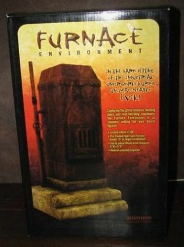 A Nightmare on Elm Street Action Figure SIDESHOW 12 inch Furnace Boiler Limited