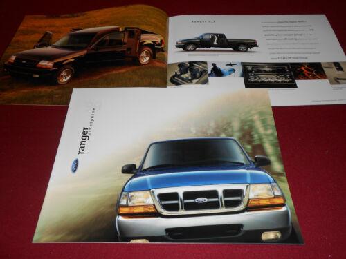 BROCHURE 99 SALES CATALOG: XL XLT 1999 FORD RANGER PICKUP TRUCK ...