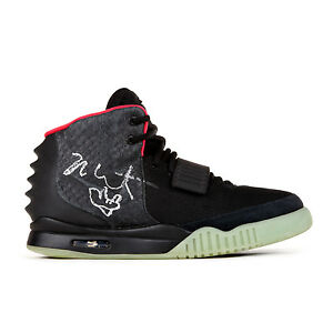 Nike-Air-Yeezy-II-Sneakers-Signed-by-Kanye-West