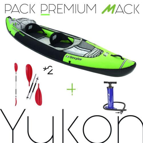 Packung kayak aufblasbar YUKON SEVYLOR , mit Paddel abnehmbar und Pumpe