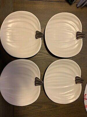 Harvest Gatherings 9 Salad//Dessert Plates Set of 4