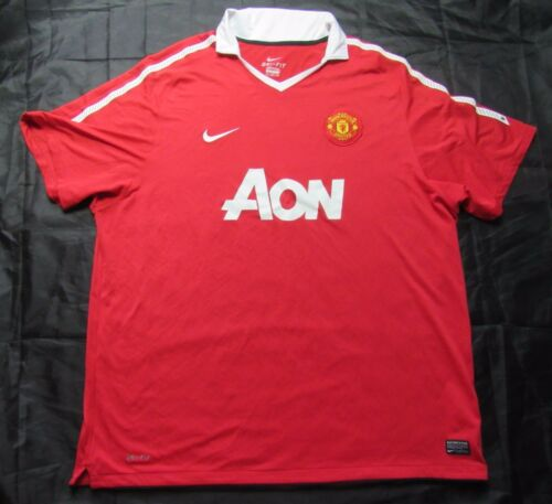 MANCHESTER UNITED Home shirt by NIKE 20102011 menred 3XL XXXL