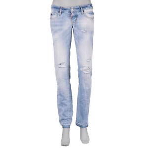 DSQUARED2-DSQUARED-D2-Denim-Slim-Jean-Destroyed-Jeans-Metal-Logo-Blue-07328