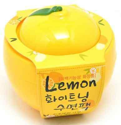Baviphat, Lemon whitening sleeping pack 100g, Korea cosmetic, Free shipping