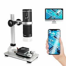 Cainda Wifi Digital Microscope For Iphone Android Phone Mac Windows Hd 1080p