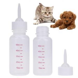Puppy Kitten Bottle 50ml Pet Nursing Feeding Bottle for Dogs Cats