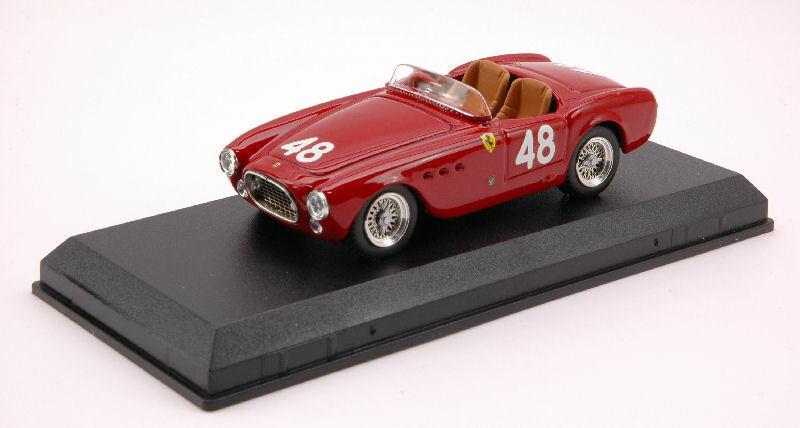 Ferrari 225 S  48 Targa Florio 1952 Vittorio Marzotto 1 43 modello ARTmodello