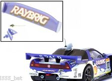 New Scalextric W9302 Honda NSX Rear Wing Spoiler, Mirrors & Aerial For (C2720)