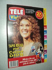 TELE VISION 217 (19/11/98)CELINE DION VERONIQUE GENEST FLORENT PAGNY MIMIE MATHY