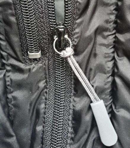 Gris Heavy Duty Fermeture Éclair Zip Réparation Endura DARE 2B Gore DHB Berghaus Castelli Cube