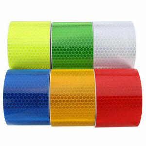 50MM-HIGH-INTENSITY-SAFETY-REFLECTIVE-TAPE-SELF-ADHESIVE-SAFTY-TOOL-ELEGANT