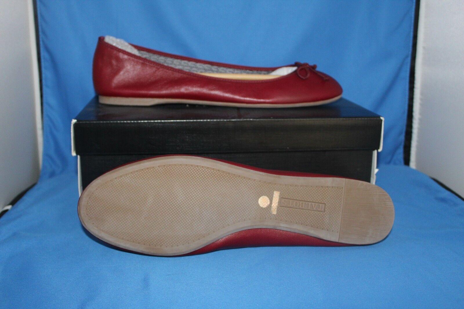 Talbots Damens Schuhe - Größe 11 M -Merlot Jilly Jilly -Merlot - Cranberry ROT 024ec4