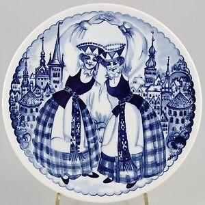 Meissen-Wandteller-Singing-Tallinn-Estonia-Shipping-Comp-1986-1-Wahl