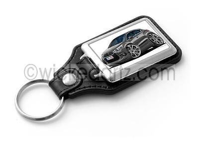 WickedKarz Cartoon Car Citroen DS4 in Silver Stylish Key Ring