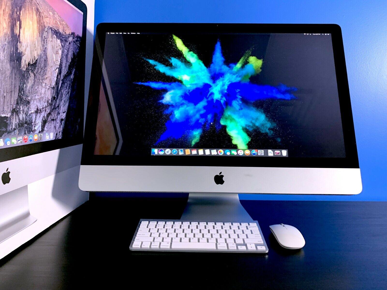 Apple iMac 27 All-In-One Desktop   INTEL CORE   1TB STORAGE   3 YEAR WARRANTY. Buy it now for 799.00