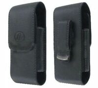 Leather Case Pouch Holster For Verizon Lg Env Touch Vx11000, Enlighten, Cosmos 2