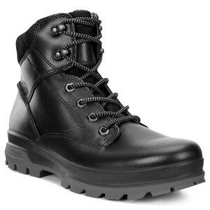 6c4f0528b5e136 Ecco Rugged Track Schuhe Men Herren Outdoor Mid Boots Stiefel black ...
