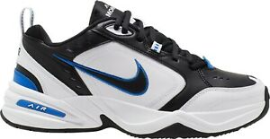NIKE-Air-Monarch-IV-Sneakers-Running-Man-White-Black-Blu-Scarpe-ginnastica-uomo