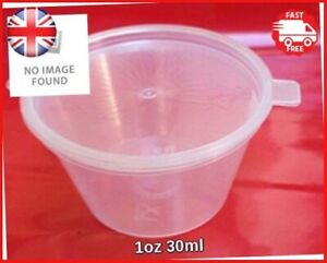 Small-Craft-Storage-Paint-Beads-Plastic-Container-Pot-with-Hinged-Lid-30ml