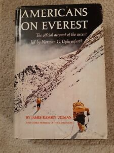 Americans On Everest by James Ramsey Ullman et. al./First Edition/VG/DJ