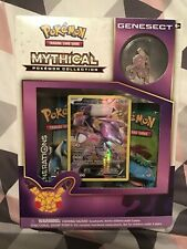 5 box lot TCG Mythical Collection Genesect Card Game