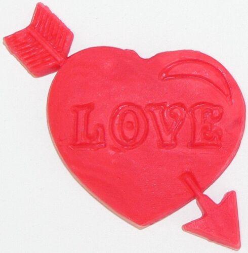 SILIKON 3D BACKFORM HERZ /& PFEIL LOVE FONDANT AUSSTECHFORM GEBURTSTAG HOCHZEIT