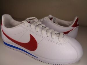 cheaper 1902b 4a74a Image is loading Nike-Classic-Cortez-Leather-OG-Forrest-Gump-White-