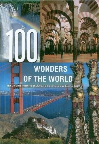 100 Wonders of the World Travel Books, New Books