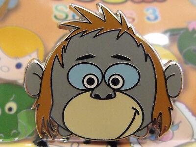 2017 Disney Mystery Trading Pin Tsum Tsum Cute Jungle Book King Louie Series #3