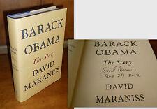 Barack Obama : The Story by David Maraniss (2012, Hardcover)