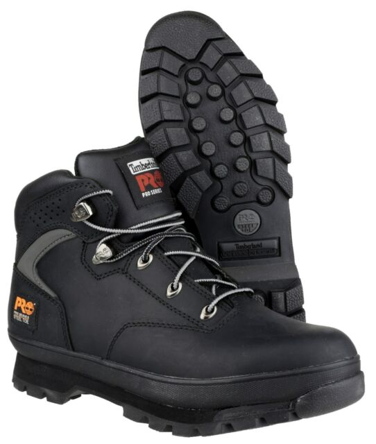 215d69f9c55 Timberland Euro Hiker SB SRC Safety Work Boot Black 9uk / 44eu