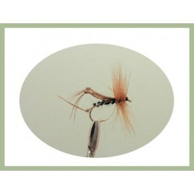 Fishing Flies Mixed 10//12//14 Hopper Trout Flies 8 Pack Yellow Bristol Hoppers