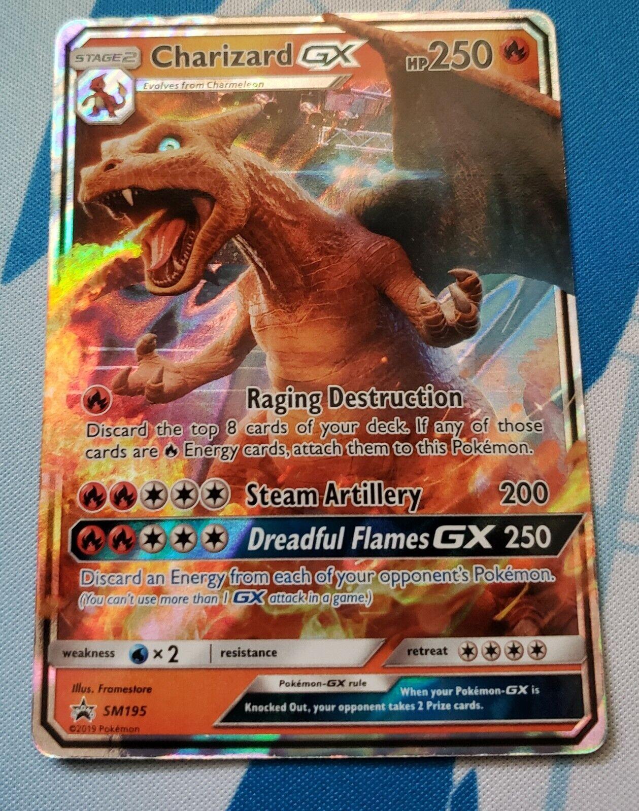 Pokemon Individual Cards Toys Hobbies Pokemon Individual Cards Pokemon Charizard Gx Sm195 Detective Pikachu Nm M Promo Toys Hobbies Ravilaser Ee