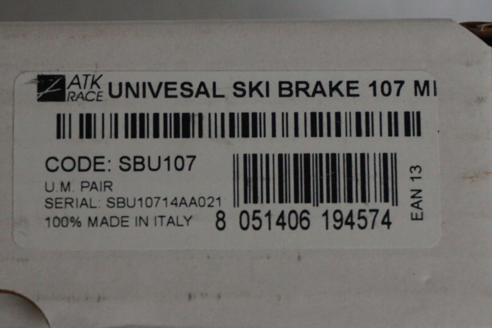 Skibremse für Pinbindungen ATK UNIVERSAL SKI BRAKE 108mm Bindungen